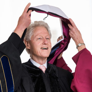 Bill Clinton, Loyola Marymount's 2016 commencement speaker.